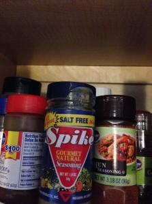 Spike seasoning
