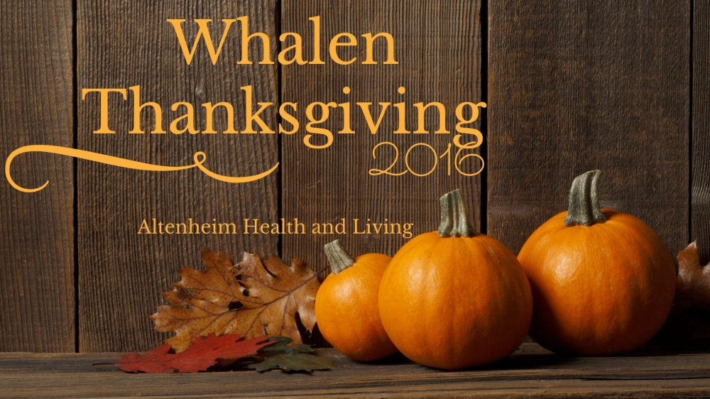 Whalen Thanksgiving